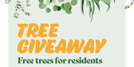 Free tree giveaway tickets