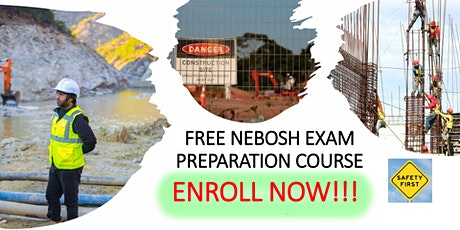 FREE NEBOSH Exam Preparation Course tickets