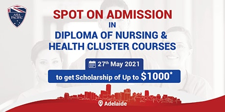 Spot On Admissions in Health Cluster Courses tickets