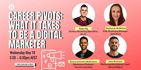 Career Pivots: What It Takes To Be A Digital Marketer tickets
