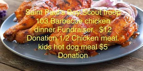 Boy Scout troop Barbecue drive-through tickets