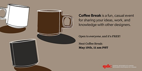 GDC Coffee Break  -  May Edition tickets