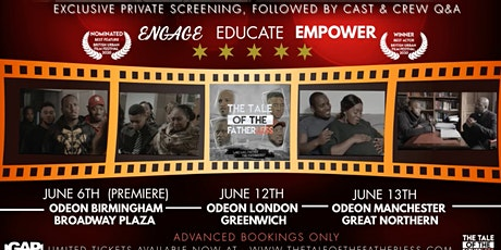 The Tale of The Fatherless - Exclusive Screening (LONDON) tickets