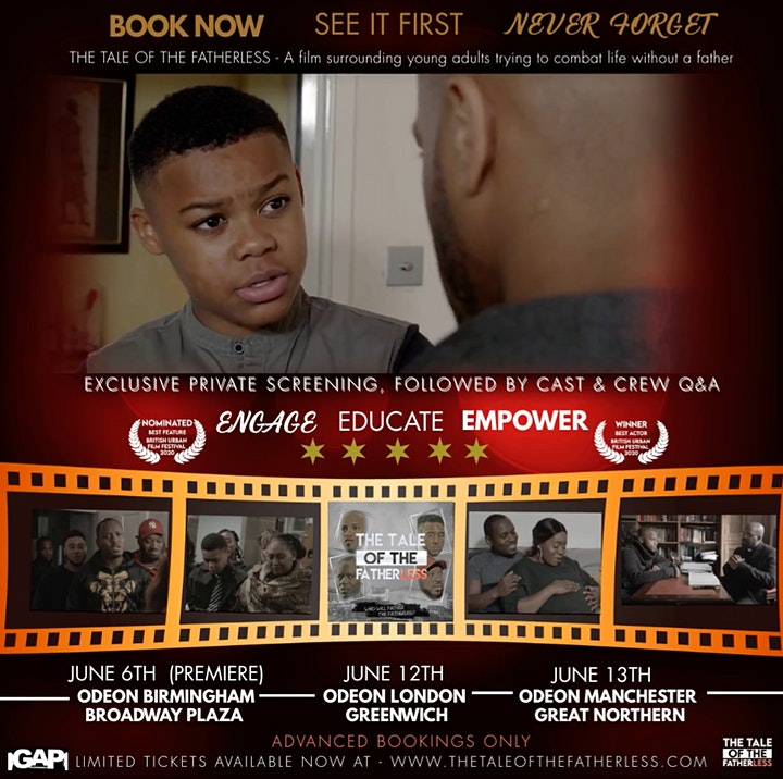 The Tale of The Fatherless - Exclusive Screening (MANCHESTER) image