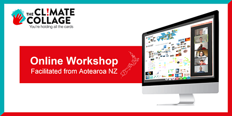The Climate Collage Workshop Online (facilitated from Aotearoa NZ) tickets