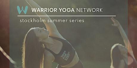 Warrior Yoga Rooftop Summer Series biljetter