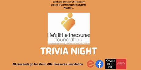 TRIVIA NIGHT - Life's Little Treasures Foundation tickets