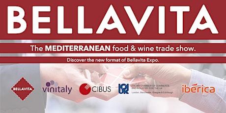 Bellavita Expo London 2021 - The Mediterranean Food & Wine Trade Show tickets