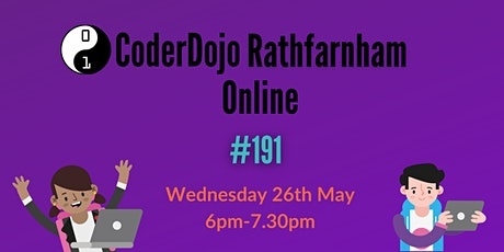 CoderDojo Rathfarnham Online - #191 Tickets
