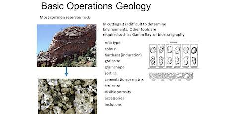 Basic Operations Geology Module 1 wellsite geological data interpretation tickets