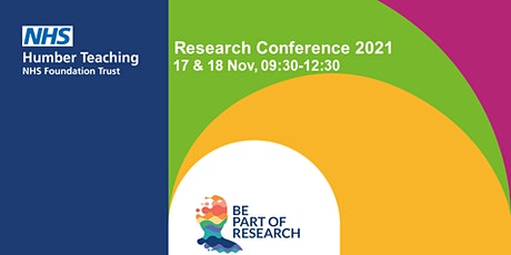Developing a City of Research V - Humber Teaching NHS FT - Conference 2021 tickets