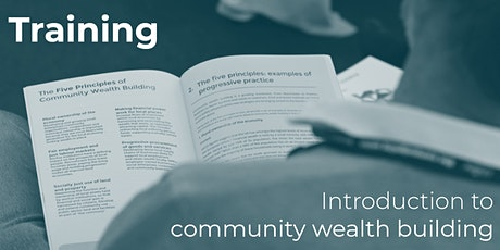 Introduction to community wealth building tickets