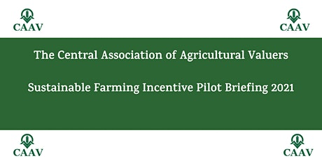 CAAV Sustainable Farming Incentive (SFI) Pilot - 2021 tickets