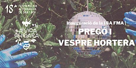 FMA Sant Boi |  INAUGURACIÓ DE LA 18A FESTA MAJOR ALTERNATIVA entradas