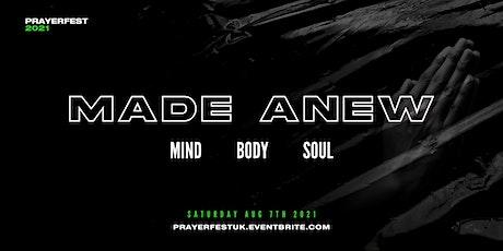 Prayerfest 2021 - MADE ANEW tickets