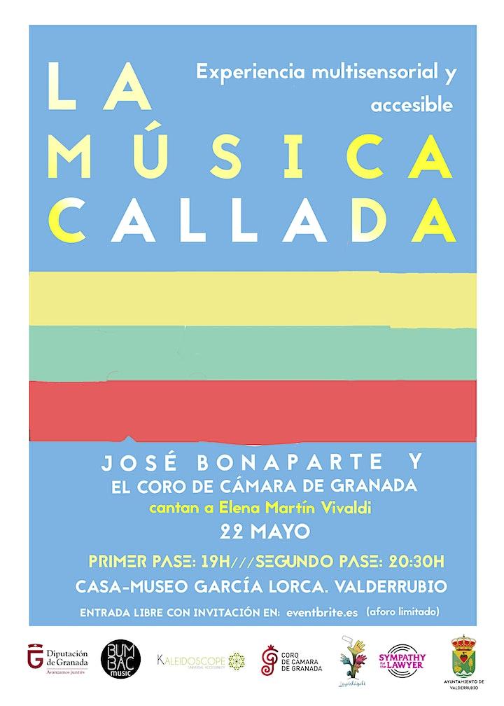 Imagen de Concierto LA MÚSICA CALLADA. José Bonaparte y el Coro de Cámara de Granada.