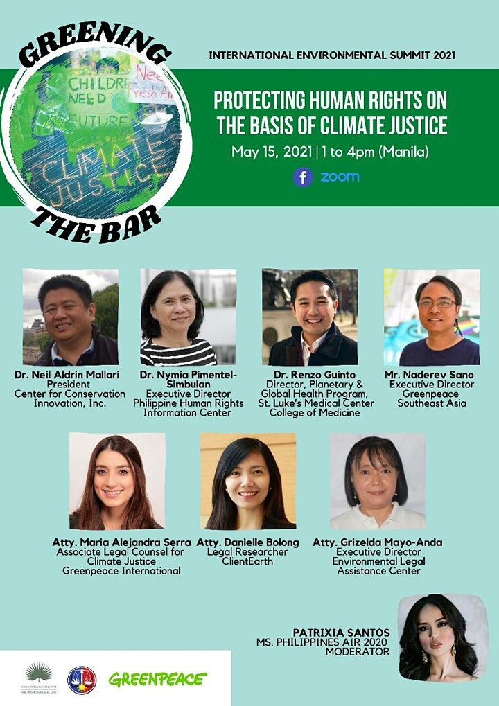 GREENING THE BAR: Protecting human rights on the basis of climate justice image