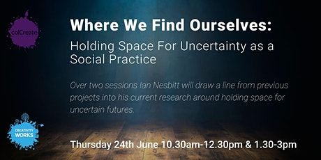 Where We Find Ourselves: Holding Space For Uncertainty as a Social Practice tickets