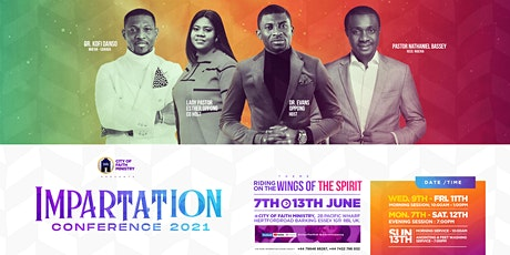 IMPARTATION CONFERENCE 2021 - City of Faith Ministry (UK) entradas