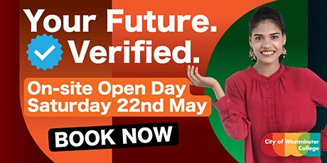 May 2021 - Open Day @ CWC tickets