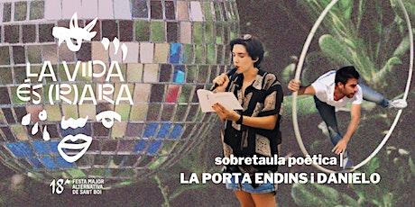 FMA Sant Boi | Sobretaula poètica amb PORTA ENDINS I DANIELO entradas