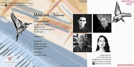 Pianoconcert: Messiaen Visions tickets