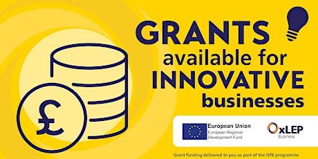 ISfB 'Go-Create' Grant Webinar tickets