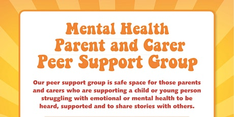 Mental Health Peer Support Group SEND services information tickets