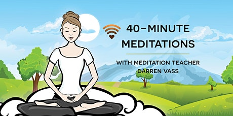 40-minute meditations tickets