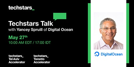 Techstars Talk with Yancey Spruill of Digital Ocean tickets