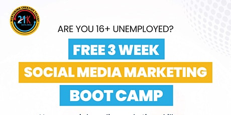 Social Media Marketing Bootcamp tickets