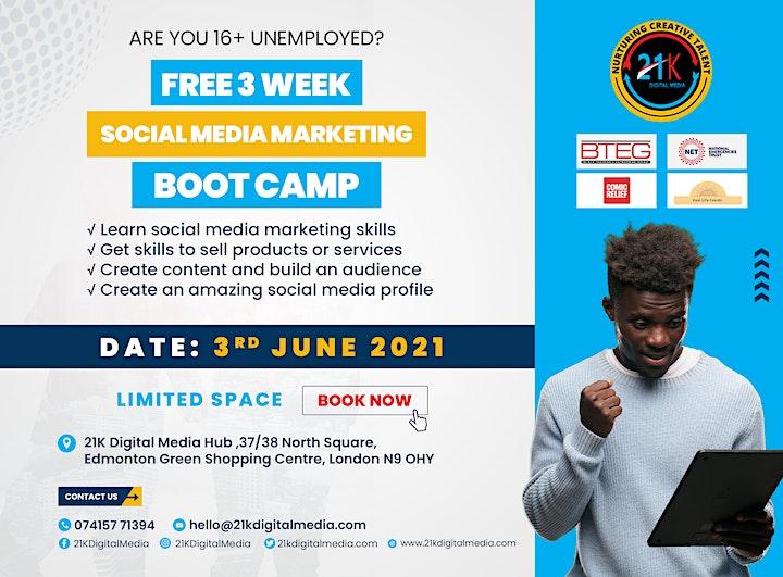 Social Media Marketing Bootcamp image