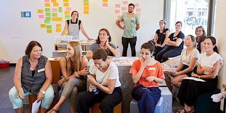 Design Thinking für die Schule am 28. und 29.09.21 tickets