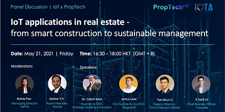 How IoT Applications are Changing the Real Estate World? tickets