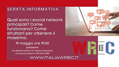 Serata informativa social media business biglietti