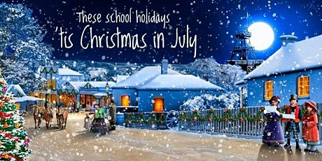 A White Christmas in July including Christmas Lunch, Charity Gala and fun tickets