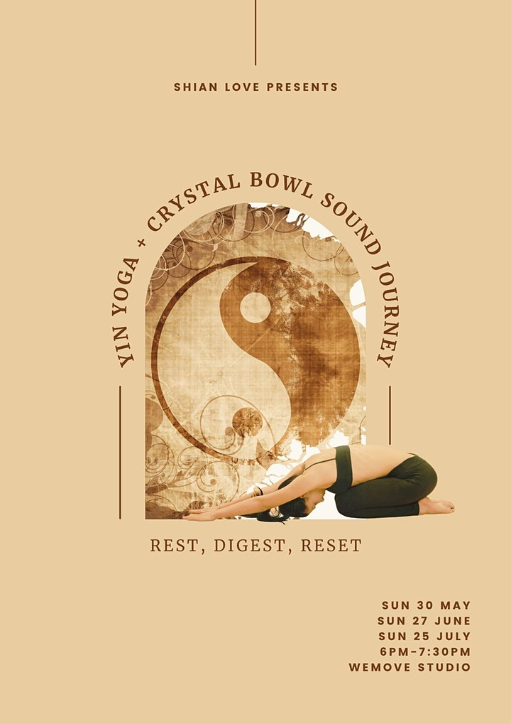 YIN YOGA + CRYSTAL BOWL SOUND JOURNEY image