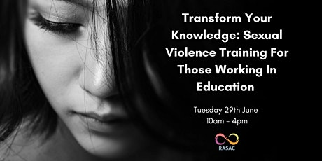 Sexual Violence Training for Those Working in education tickets