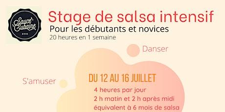 Stage de Salsa pour novices et débutants intensif - Sauce Cubaine billets