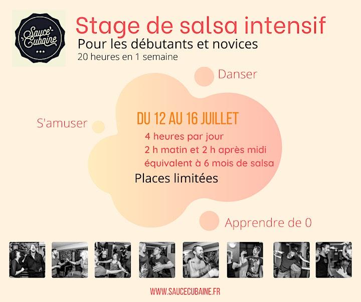 Image pour Stage de Salsa pour novices et débutants intensif - Sauce Cubaine