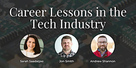 Career Lessons in the Tech Industry tickets