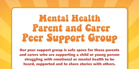 Mental Health Peer Support Group Healthy Minds Team Information tickets