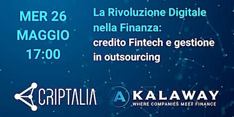 La Rivoluzione Digitale nella Finanza. biglietti