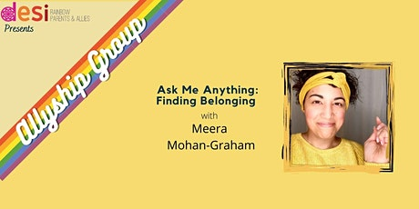 Ask Me Anything with Meera Mohan-Graham Tickets
