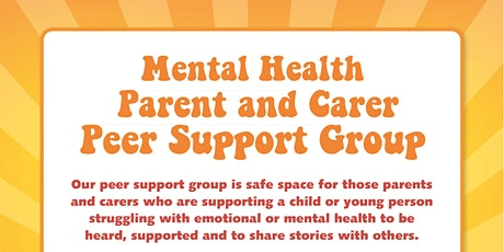 Mental Health Peer Support Group LIFECYCLE information tickets