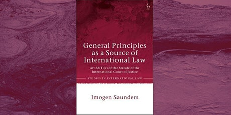 Book Launch: General Principles as a Source of International Law tickets