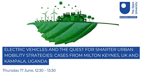 Electric Vehicles (EVs) and the quest for smarter urban mobility strategies tickets