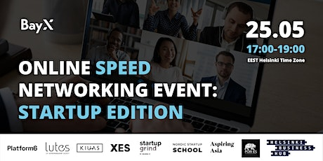 FREE ONLINE Speed Networking Event: Startup Edition tickets