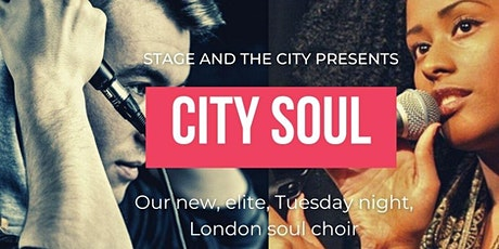 City Soul Choir Auditions tickets