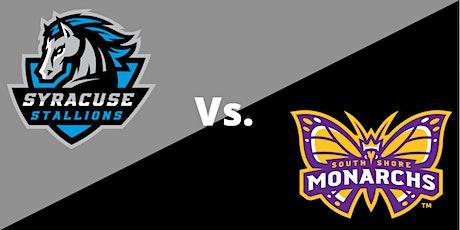 Syracuse Stallions (7-3) vs. South Shore Monarchs (0-8) tickets